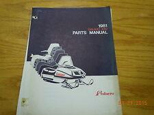 POLARIS 1981 GALAXY 440 PARTS MANUAL