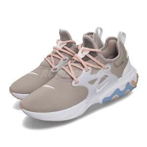 Nike Wmns React Presto Pumice Grey White Women Running Shoes Sneakers CD9015-201