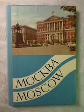 Moskau Mockba Moscow Leporello Farbfotos von N. Granovski 21 Abbildungen Mappe