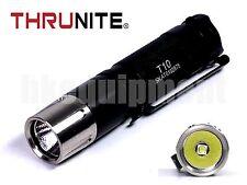 Thrunite T10 Cree XP-L V6 LED Cool White CW LED Torch Black