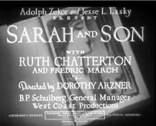 SARAH AND SON ~ Ruth Chatterton, Fredric March 1930 region free DVD