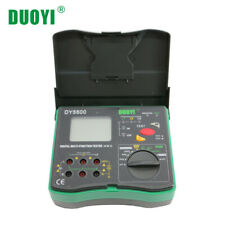 DUOYI DY5500 4 in 1 multifunction Digital multimeter resistance tester ground