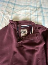 Superdry Jumper XXL, Burgundy, Mens.