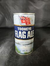 Tooheys Flag Ale 12 Oz Australian Flag Ale Steel Pull Tab Beer Can - Bottom Open
