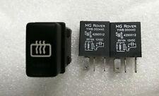 MGTF MG TF Late 04> PEKTRON Heated Rear Window HRW Switch And Relay Kit