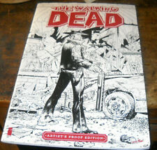 2 LOT WALKING DEAD LARGE ARTIST'S PROOF EDITION + 2003 WALL CALENDAR BOTH!