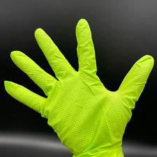 Diamond Grip Hd 8mil Heavy Duty Latex Free Nitrile Disposable Glove 40 100 Green