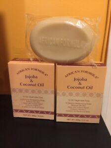 2 X African Formula Jojoba & Coconut Oil SOAP. LOT OF 2