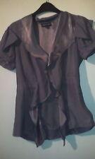Pure Silk Warehouse Bronze blouse size 10