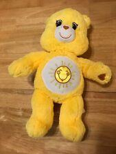 """Build-A-Bear Yellow Sunshine Care Bear Stuffed Plush 17"""""""