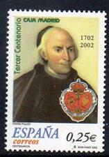 España 2002 estampillada sin montar o nunca montada SG3849 300th aniversario de Caja Madrid banco de ahorros