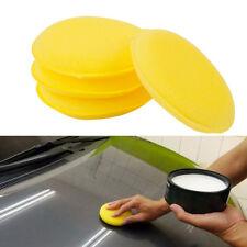 12 x car foam waxing pads vehicle sponge applicator clean paint polish polishing