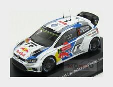 Volkswagen Polo R Wrc #2 Winner Rally Sweden 2014 Latvala Whitebox 1:43 WBR024