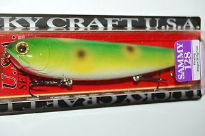 "lucky craft sammy 128 topwater lure 5"" 1oz floating frog walk the dog"
