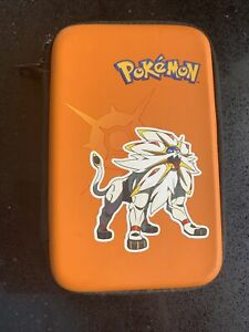 Official Nintendo 3DS / XL Carry Case Pokemon Sun and Moon | Orange and Purple
