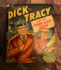 Dick Tracy & The Tiger Lilly Gang-Chester Gould-Vintage Better LIttle Book-1949