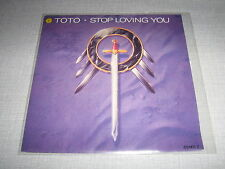 TOTO 45 TOURS HOLLANDE STOP LOVING YOU