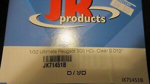 JK 1/32 ULTIMATE PEUGEOT 908 HDI CLEAR BODY 0.010 THICK JK71451B