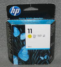 HP Tintenpatrone 28ml Gelb C4838A Nr. 11 Neu OVP MHD 01/2016