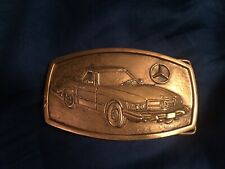 Vintage 1978 Baron Buckle Mercedes Benz SL Coupe 6036 FREE SHIPPING IN USA