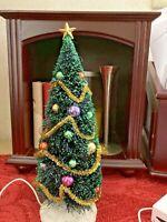 Lemax  Christmas Village lighted tree