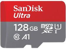 SanDisk 128GB Ultra microSDXC A1 UHS-I/U1 Class 10 Memory Card with Adapter, Spe