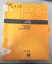 John Deere JD500-C Loader Backhoe Parts Catalog PC-1239 1978