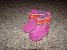 TOMS BABY INFANT T3 3 PINK BOOTS SHOES