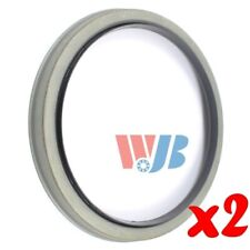 Pair of 2 WJB WS710571 Front Oil Seal Wheel Seal Interchange 710571