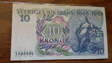 Sweden 10 Kronor 1968 UNC Commemorative