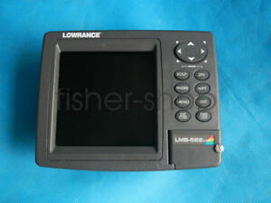Lowrance LMS-522C iGPS built-in antenna (Only head & cover,no other accessories)