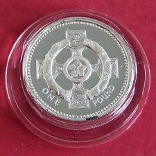 1996 UNITED KINGDOM £1 SILVER PROOF