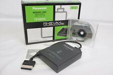 3DO REAL MEMORY UNIT FZ-EM256 Boxed Panasonic Ref 2210 JAPAN Game