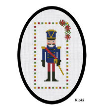 Cross stitch pattern The Nutcracker Christmas Chart Counted Scheme