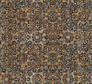 FABRIC QT ~ PARADOX ~ Dan Morris (28008 A) Mandalas Brown by the 1/2 yard