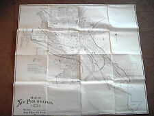 Vintage Dated 1971 New Philadelphia Ohio City Map 33 by 36 black & White