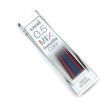Mechanical Pencil Lead Mix Color Uni Nano Dia 0.5mm. 202NDC