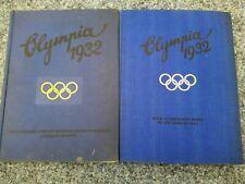 2 kompl. Alben Olympia USA 1932 Berlin 1936 Bd. 2 Reemtsma Sammelbilder gut erh.