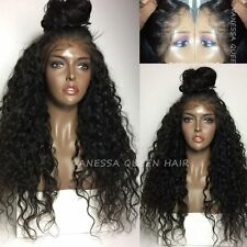 Vanessa Queen 180 Density Curly Synthetic Lace Front Wig Kinky Curly Hair wigs