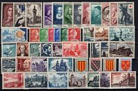 BC143052 / FRANCE COMPLETE YEAR 1955 MNH ** CV 310 $