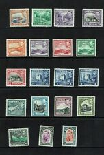 Cyprus: 1938 King George VI definitive set complete, Mint.