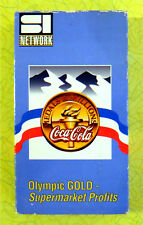 Coca-Cola - Olympic Medals & Millions ~ VHS Movie Video ~ Rare SI Network Promo