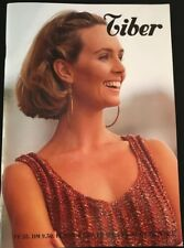 Tiber French Knitting Pattern Magazine Beautiful sweaters & Tops in 3 Languages