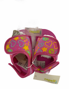 Capelli New York Kids Toddler Girls Pink Slippers Size 8/9