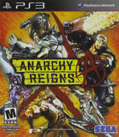 Anarchy Reigns (PlayStation 3, PS3) Brand New Factory Sealed