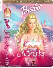BARBIE the Nutcracker VHS Movie with Music Tchaikovsky London Orchestra COLLECTO