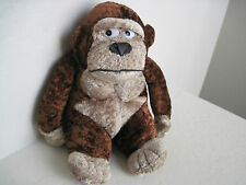 "10"" Circus Circus Brown GORILLA Monkey Plush Stuffed Animal"