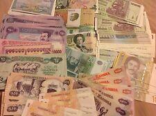 Lot#34 - 40 Pcs Different World Paper Money Set/Lot - UNC From Bundle