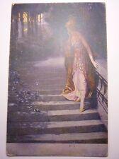 Antique German Postcard G, Hoffman Stelldichein 1917