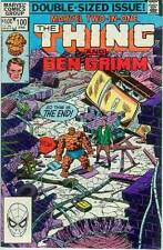 Marvel Two-In-One # 100 (Thing + Ben Grimm) (52 pages, last issue) (USA,1983)